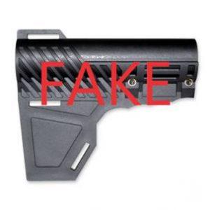Counterfeit Shockwave Blade