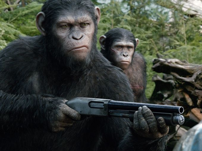 Dawn of the Planet of the Apes Raptor Grip