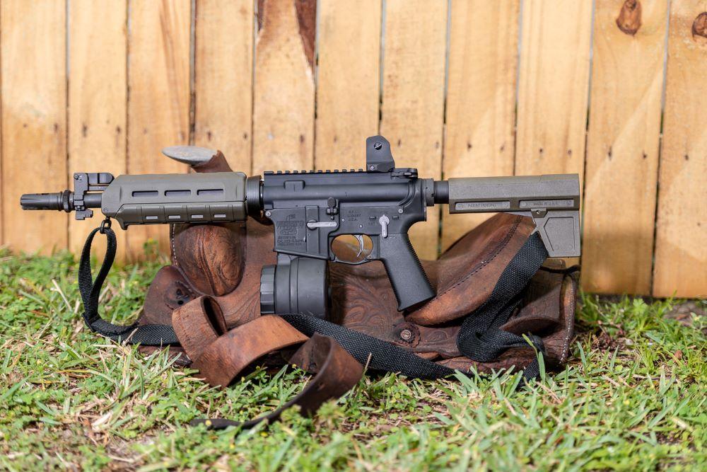 Blade 2M AR-15 pistol