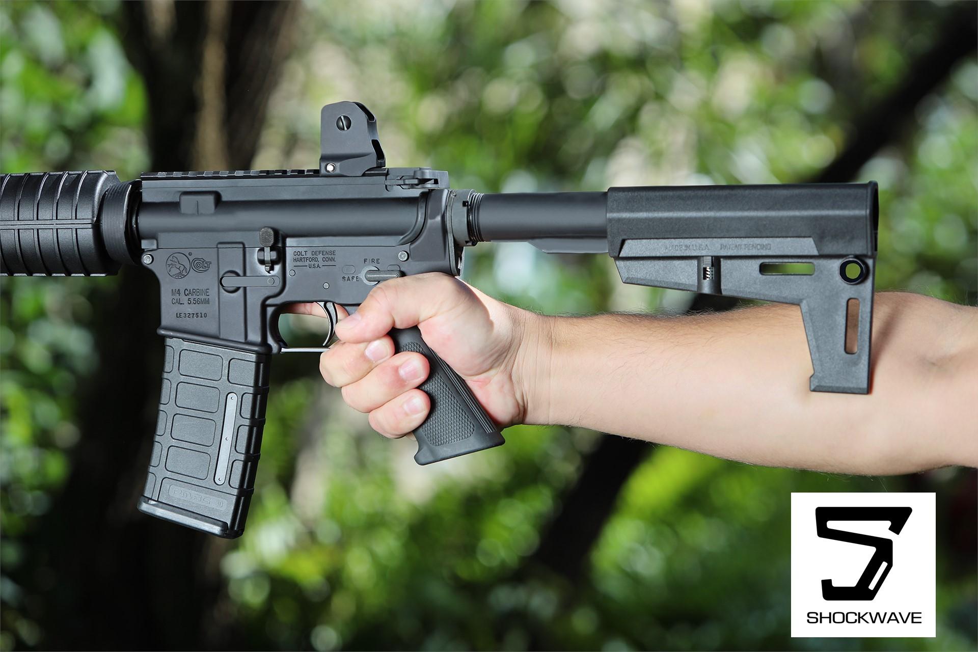 shockwave blade stealth ar-15 pistol